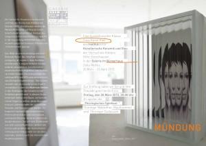 Ausstellung der Klasse Freie Kunst Glas IKKG
